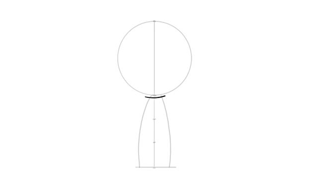 drawing chibi neck