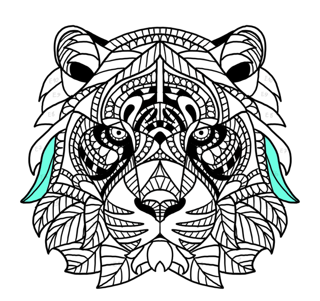 tiger cheek mane
