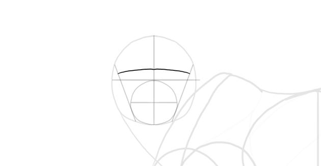draw the eybrow line