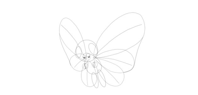 draw fangs of butterfree
