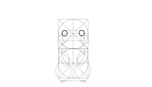 sketch pikachu eyes