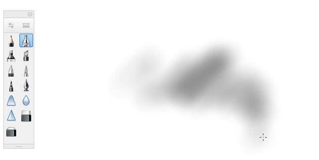 sketchbook airbrush tool