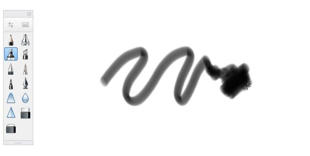 sketchbook marker tool