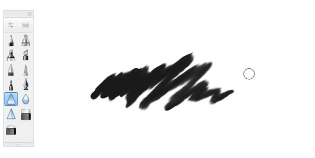 sketchbook smear tool