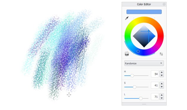 sketchbook randomize colors