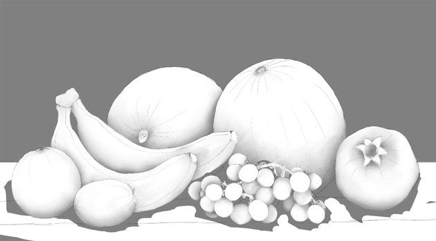 ground in ambient occlusion