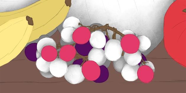 how to shade individual grapes