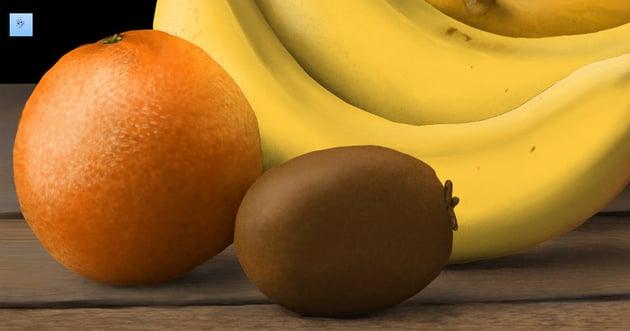 how to create orange texture