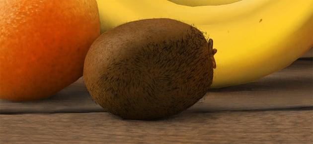 color kiwi fur