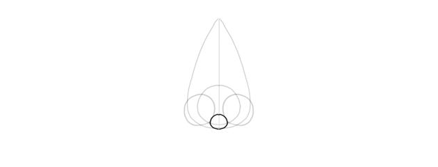 draw nose septum