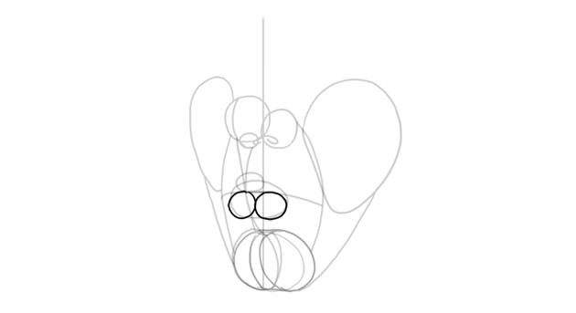 lower lip shape base in perspective