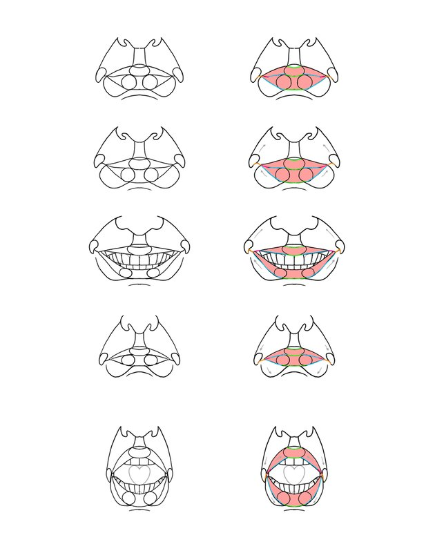 lips expressions