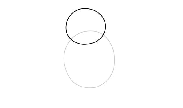 porg oval head
