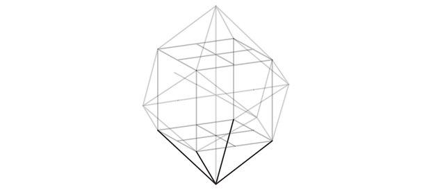 draw pyramid in the bottom