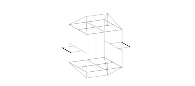 draw two ridges