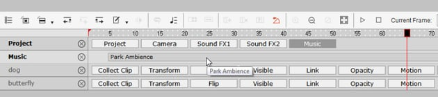 how to add background music to cta3