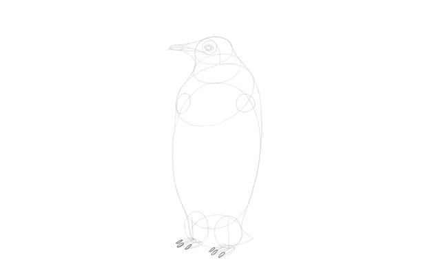 sketch toenails