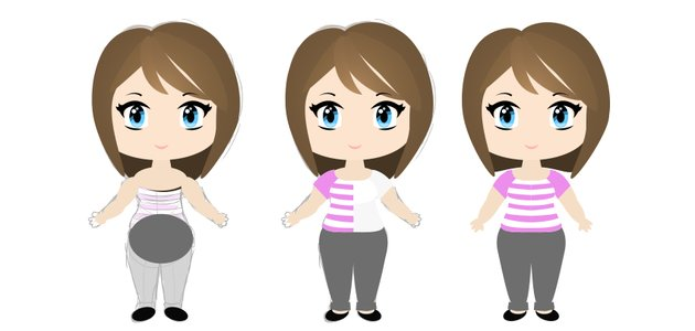 how to create vector chibi