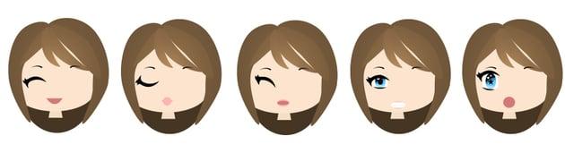 types of chibi mouths