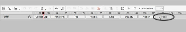 open timeline editor