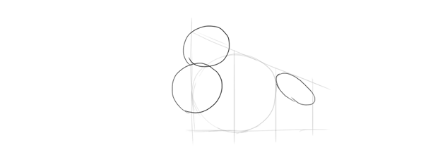 draw simplified shoulders