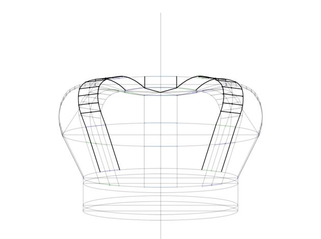 back arch outline