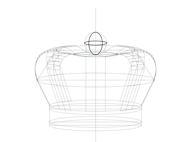 3d ball drawing