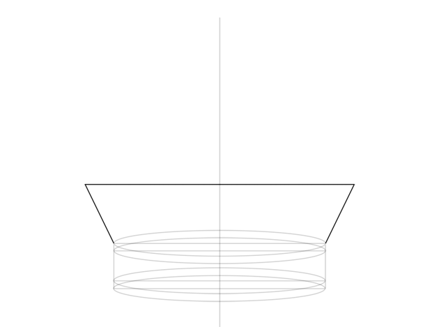 plan of bottom part of the crown
