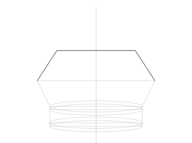 plan for top part of the crown