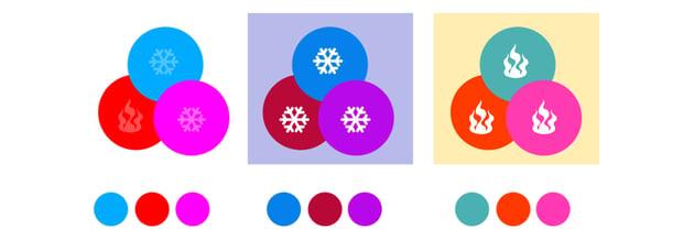 graphic design balance colors