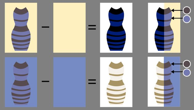 the dress explained how to see both colors