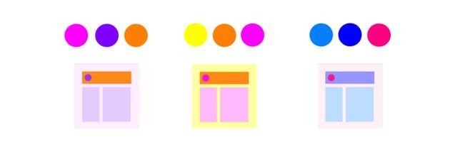 random color schemes