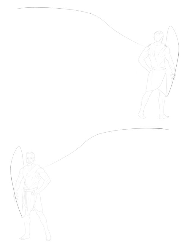 basic wing curve