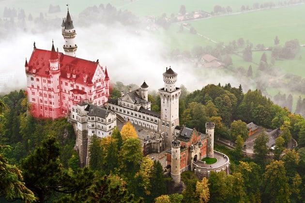 neuschwanstein castle main building