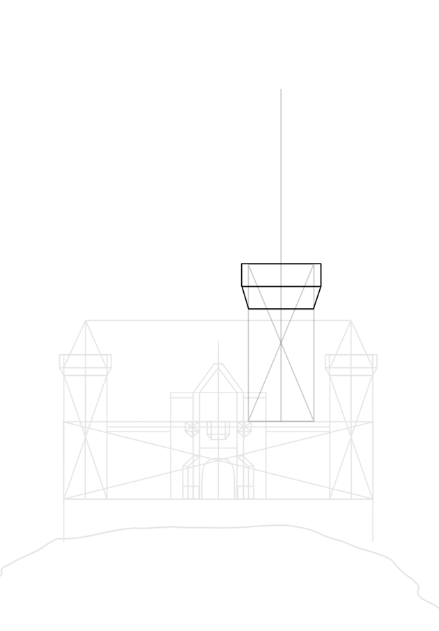 top of the tower drawing