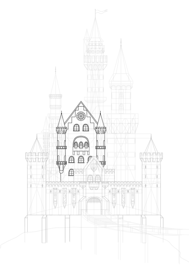 draw the main building