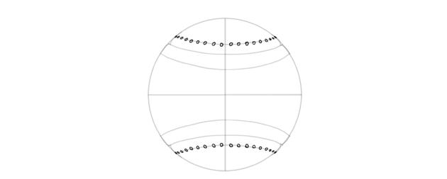 draw holes in baseball