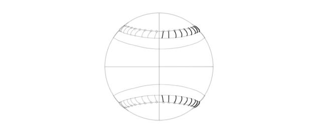 stitches on baseball