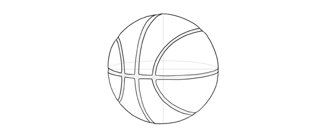 draw basketball