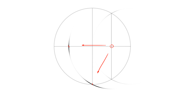 golden proportion circle