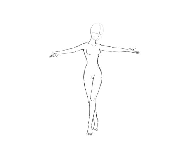 elsa body proportions