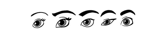 disney eye styles