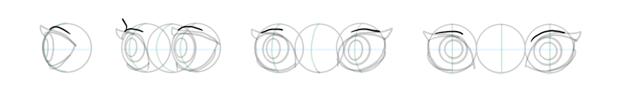 how to draw eyelids