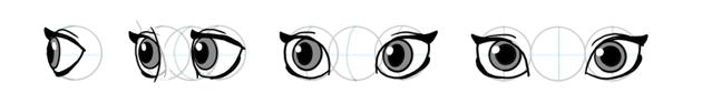 how to draw disney eyes