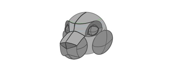 shape of cheeks