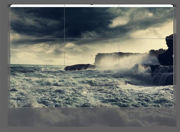 how to crop photo