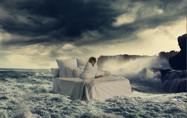 merge bed with water
