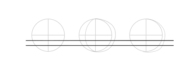 divide sphere into thirds
