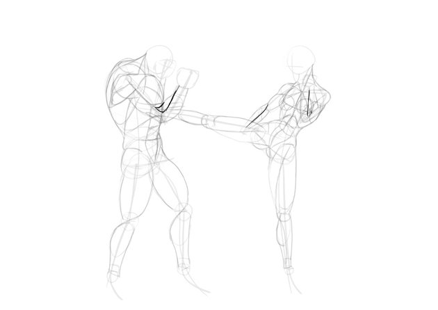 how to draw forearm muscles