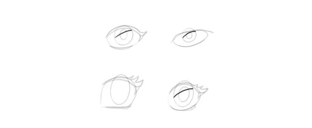 manga eyes shadow